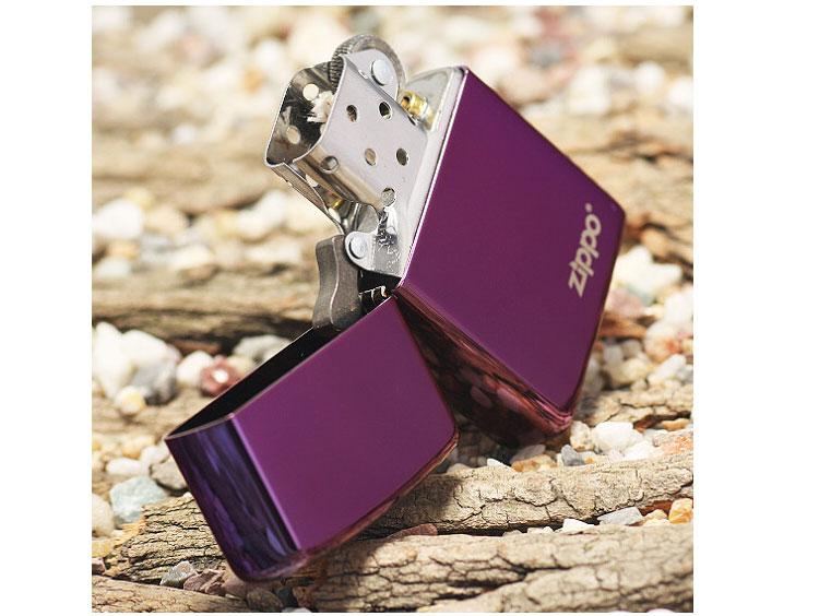 zippo打火机--紫冰zippo商标24747zl【图片