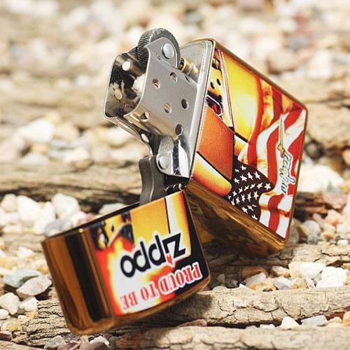 zippo打火机--mazzi彩绘商标24746