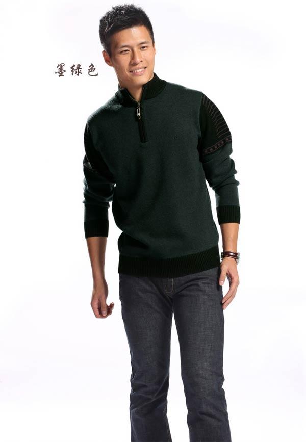 品名:羊毛衫 品牌:梦特娇 面料:羊毛100% 尺码:4-8-09款纯羊毛开