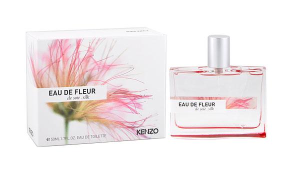 粉红色的合欢花香水和黄色的木兰花香水分别阐释出三