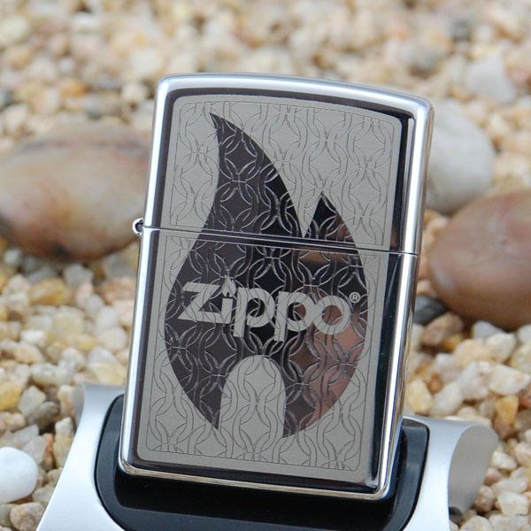 zippo打火机--火焰商标24942