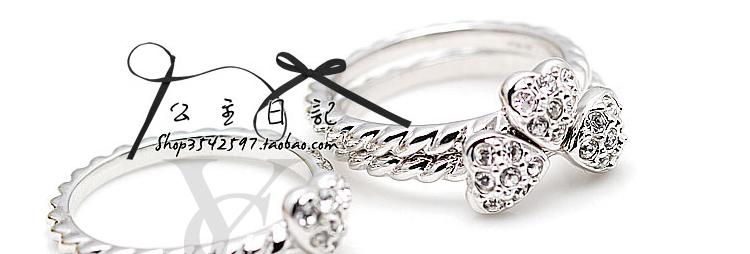 戒指缠线收线方法图解
