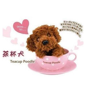 创意潮品-浪漫情人可爱感应贵宾茶杯犬【图片