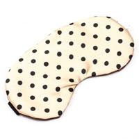 【S.K.T】可爱波点眼罩(米色)