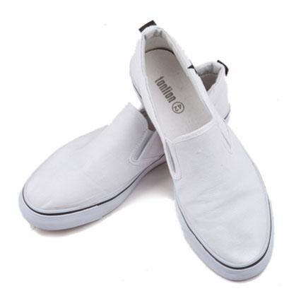】男士帆布鞋(本白)【图片
