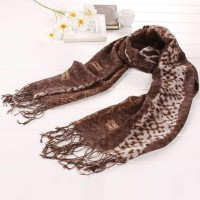 【S.K.T】羊毛系列 贵气流苏舒适围巾(咖色)