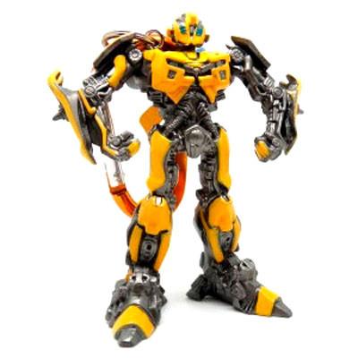 孩之宝正版变形金刚3大黄蜂汽车人玩具钥匙扣高清图片