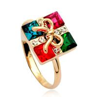 【YOUSOO】灿烂水晶完美礼物盒戒指