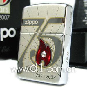 zippo打火机--zippo75周年限量发行