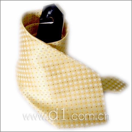 杏黄色成熟素雅领带 适合配白 蓝色衬衫 领带 男士附件