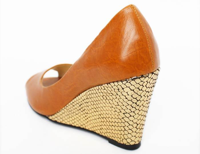 坡跟鞋女鞋单鞋