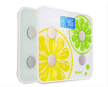 可测脂肪!智能分析八项体质健康秤