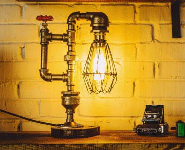 美式工业风台灯-打造酒吧式家庭