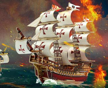 3D立体木质模型-友谊的小船不会翻