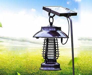 亿丰太阳能户外灭蚊灯