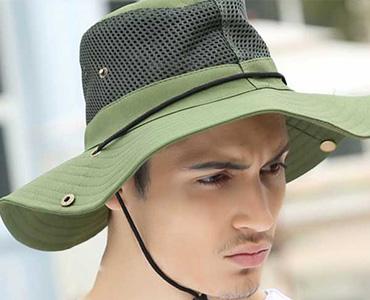 时尚男士防晒渔夫帽
