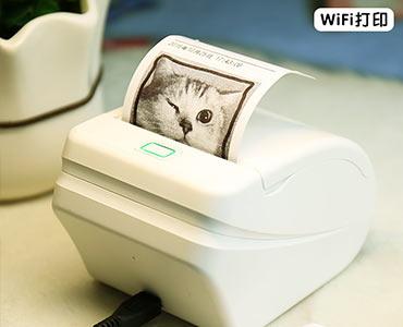 手机wife掌上不干胶打印机