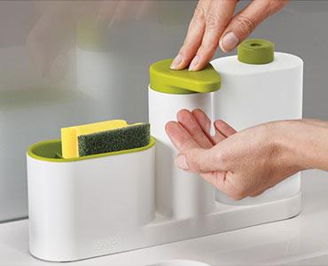 清洁用品组合整理槽